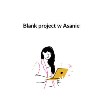 Tworzenie czystego projektu (blank project)