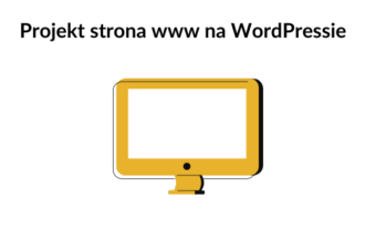 Projekt strona www na WordPressie